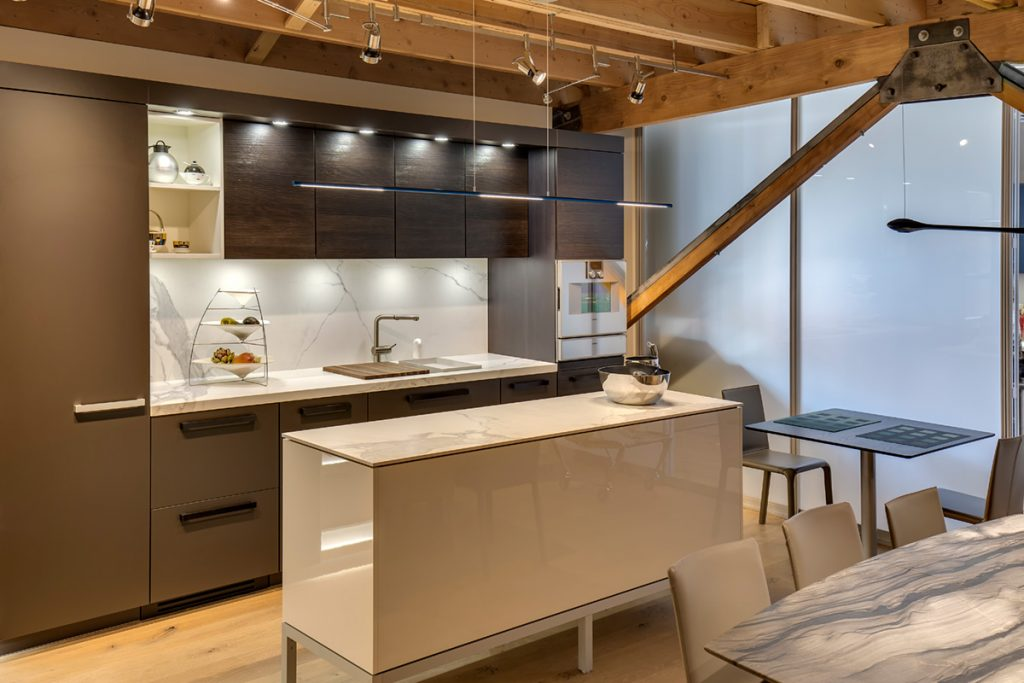 Studio 2b neolith kitchen for Marengo argelia