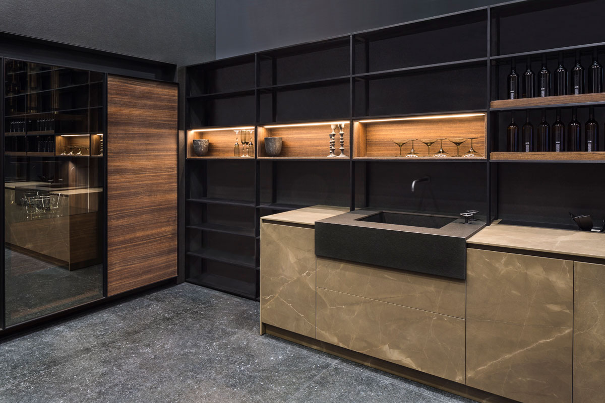 eurocucina pulpis neolith kitchen