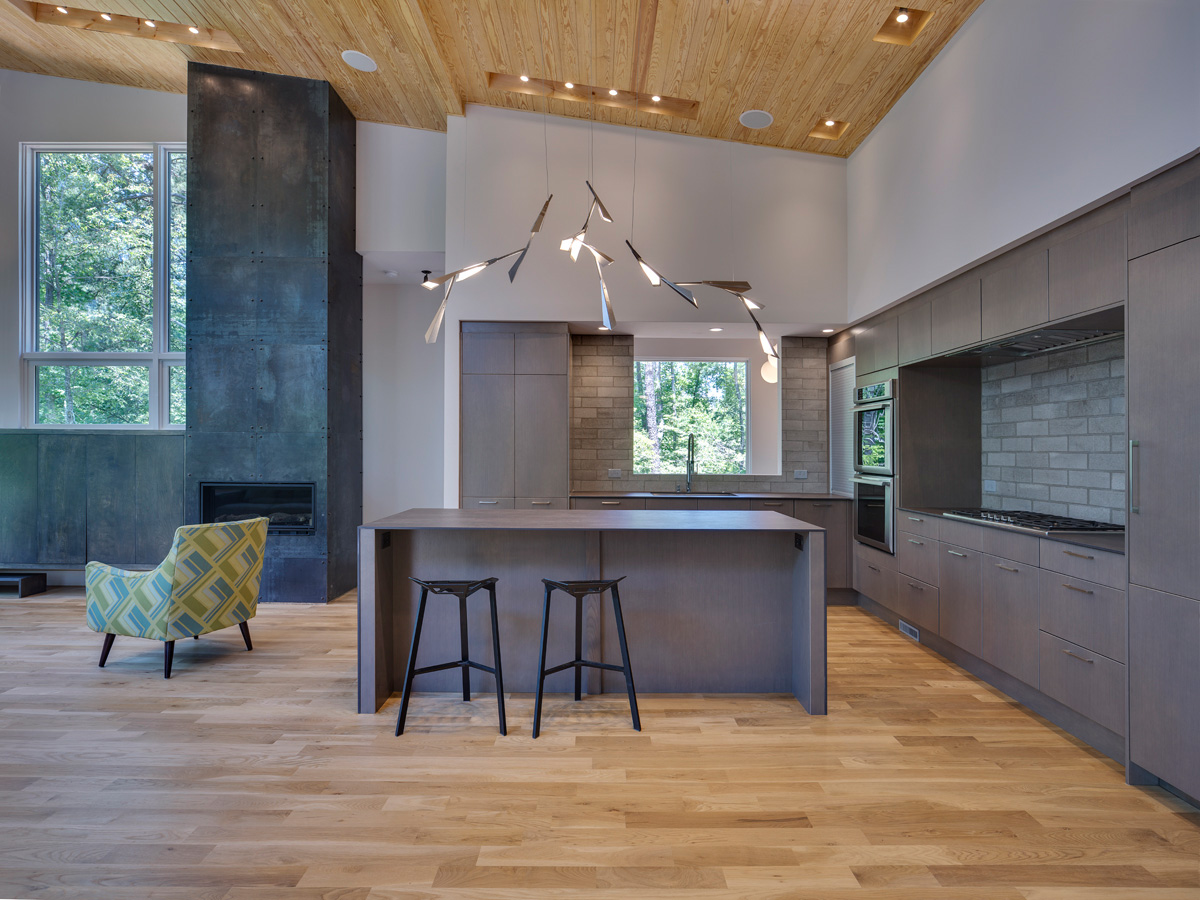 Lake house atlanta neolith kitchen for Marengo argelia