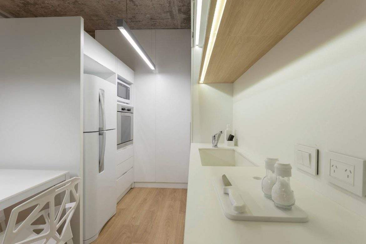 Neolith   Arctic White - Private Residence