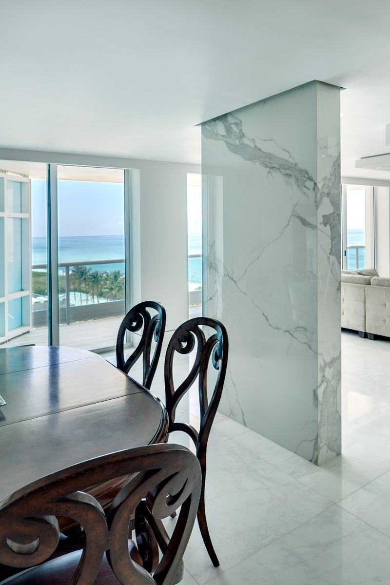 Residencia capobella condos miami neolith kitchen for Marengo argelia