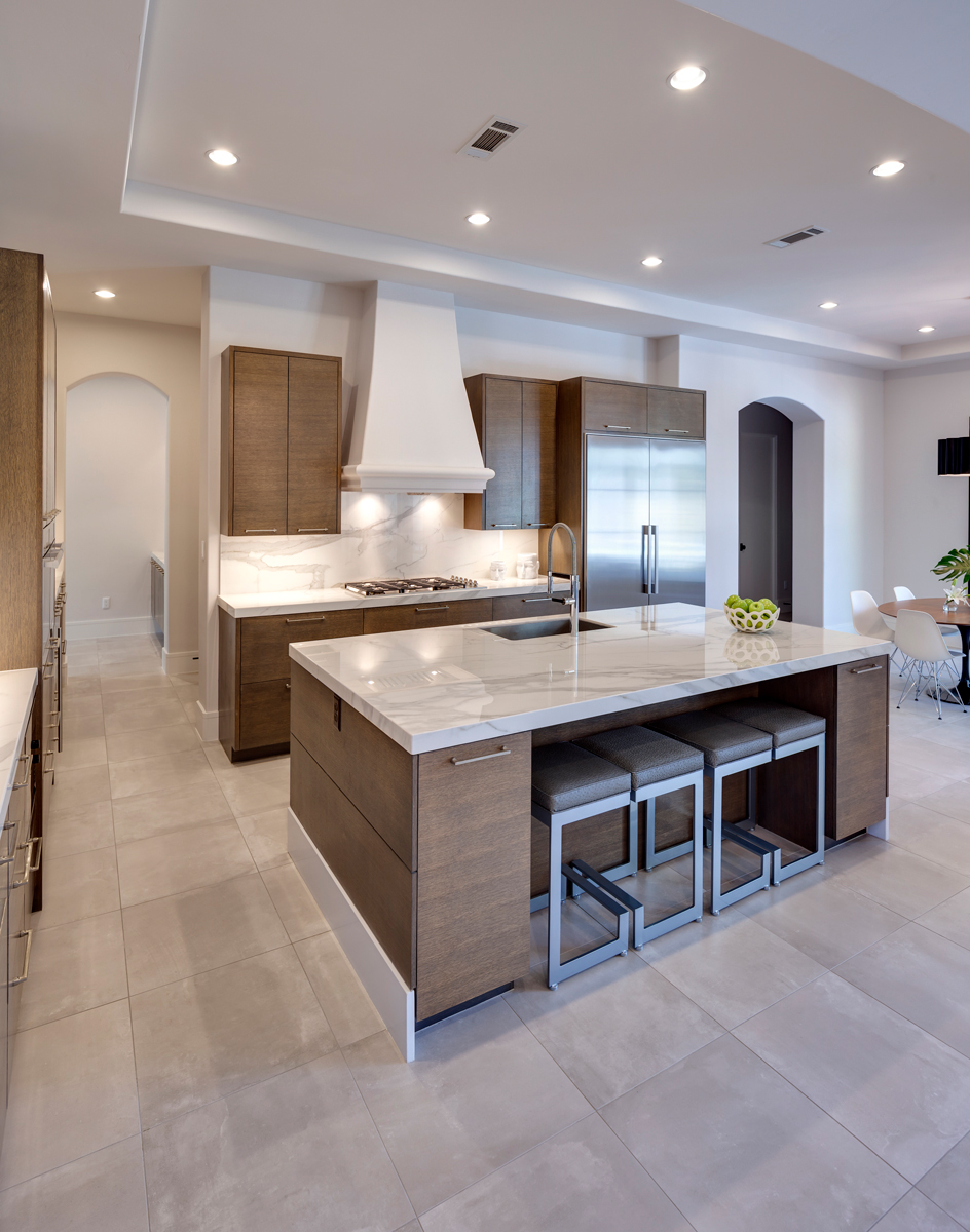 Residencia kittler loecker dallas neolith kitchen for Marengo argelia