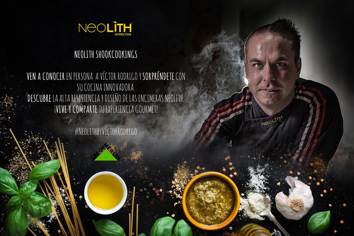 Encimeras Neolith en Leroy Merlin con Víctor Rodrigo