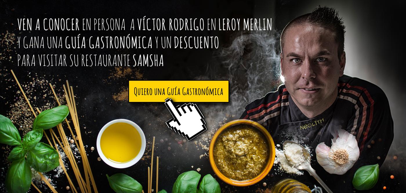 Encimera de Cocina Neolith Leroy Merlin con Víctor Rodrigo