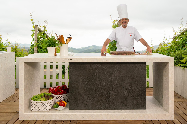 Cocina exterior de Karlos Arguiñano